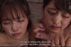 Phim sex loạn luân cha dượng địt hai con gái xinh 1